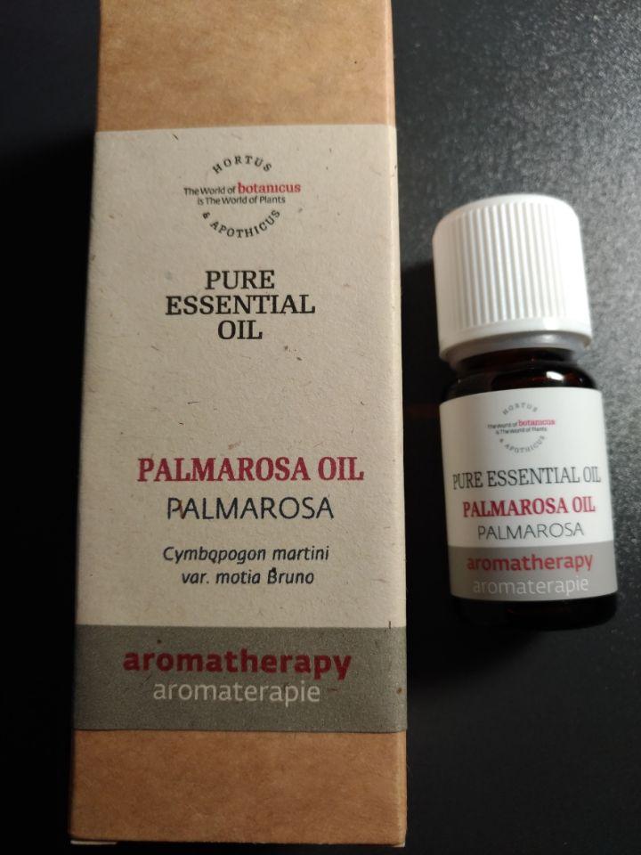 捷克菠丹妮芳療 Botanicus PALMAROSA OIL玫瑰香草精油 10ml品號03181