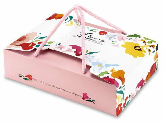 【零售量】手提8入盒花開季節50個