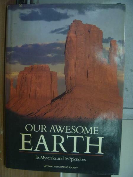【書寶二手書T7/科學_PGO】Our awesome earth_1986