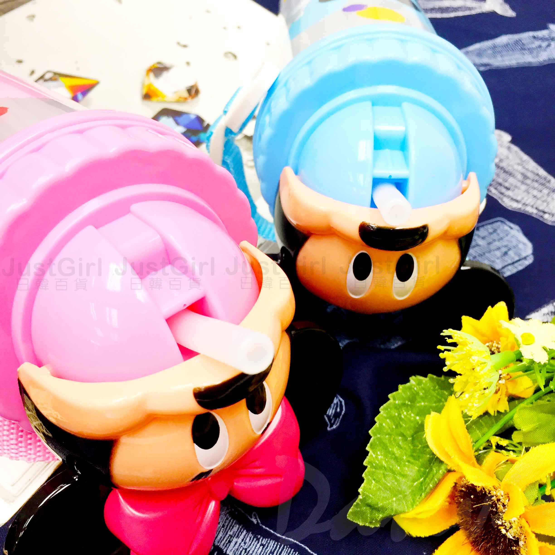 造型水壺 迪士尼 DISNEY 米奇 米妮 透明水壺 正版授權