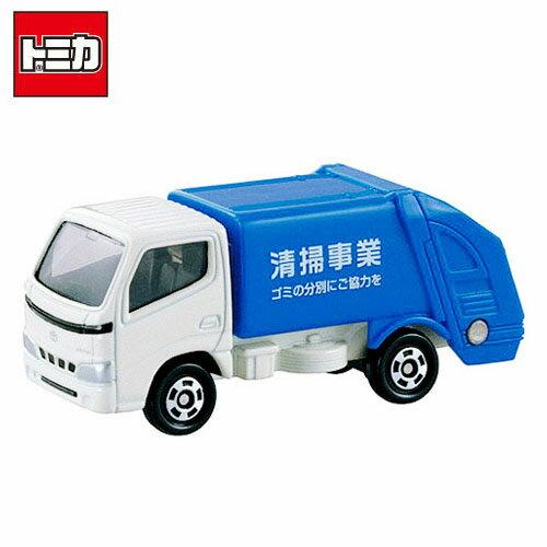 【日本進口】TOMICA 多美小汽車 TOYOTA 豐田 清掃垃圾車 NO.45 垃圾車 玩具車 - 741374