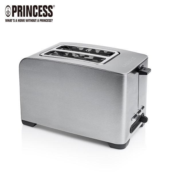 荷蘭公主 142356 Princess【烤厚片、薄片、麵包、培果都適合】不鏽鋼多功能厚片烤麵包機