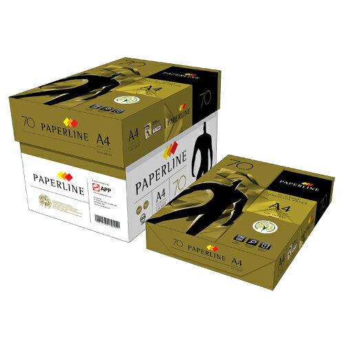 【PAPERLINE】金牌 70P A4 影印紙/多功能紙 (1箱5包)