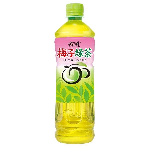 古道 梅子綠茶 600ml (4入)/組【康鄰超市】