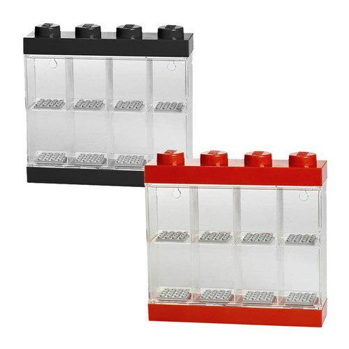 【 樂高積木 LEGO 】四柱八格公仔展示盒 ( 兩色可選 )
