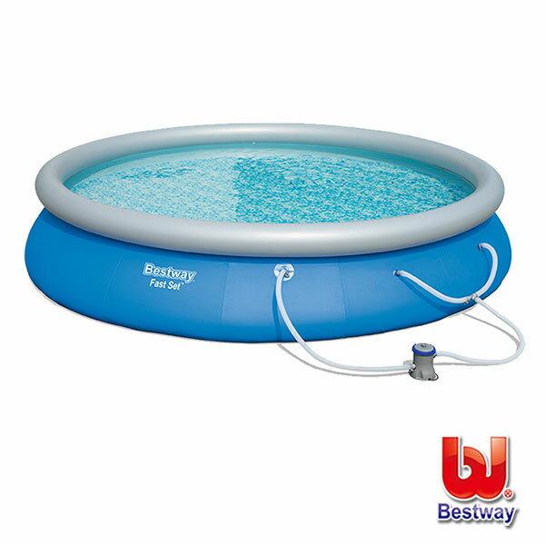 《Bestway》Kingsize帝王級圓形快速充氣泳池(69-73158)
