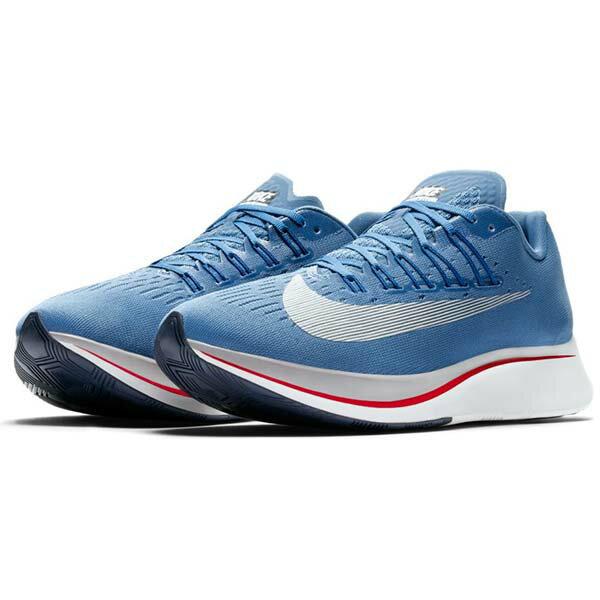 【NIKE】NIKE ZOOM FLY 慢跑鞋 運動鞋 男鞋 藍色 -880848402