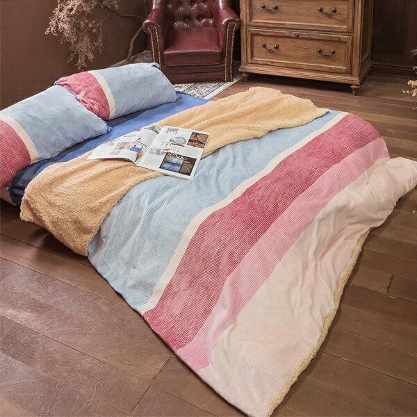 暖暖♥️法蘭絨床包兩用毯組(單人 / 雙人 / 加大可選) 觸感細緻 溫暖過冬 福袋商品 棉床本舖 2