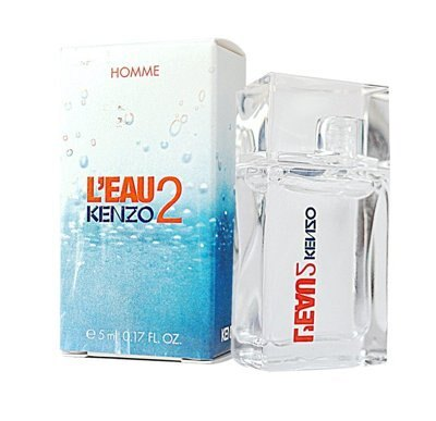 Kenzo L'eau 2 Homme 遇見風之戀/遇見水之戀 迷你淡香水 5ml◐香水綁馬尾◐