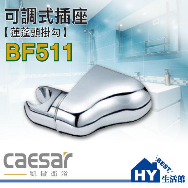 凱撒衛浴BF511可調式插座【蓮蓬頭掛勾】《HY生活館》水電材料專賣店