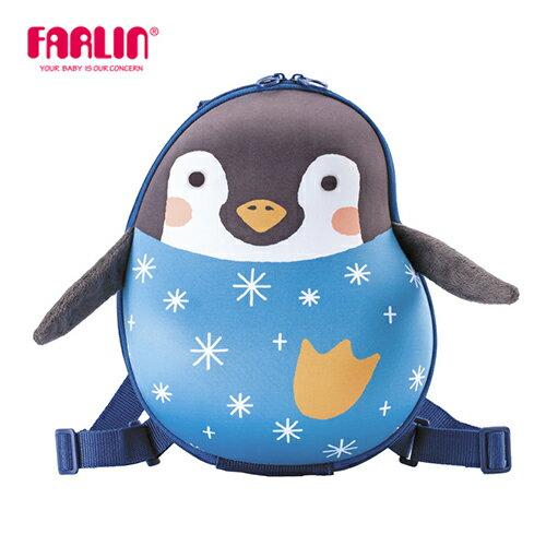 【Farlin】Sina&Mina 小童硬殼後背包 - 小企鬼(媽咪用品 親子 外出用品)