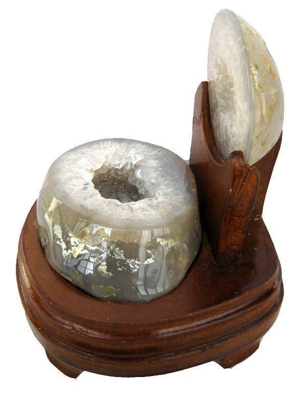水晶洞水晶聚寶盆擺件瑪瑙聚寶盆0.92kg聚寶盆瑪瑙洞