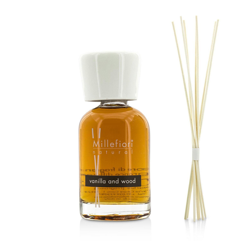 米蘭千花 Millefiori - 自然系列室內擴香Natural Fragrance Diffuser - 香草&木質Vanilla & Wood