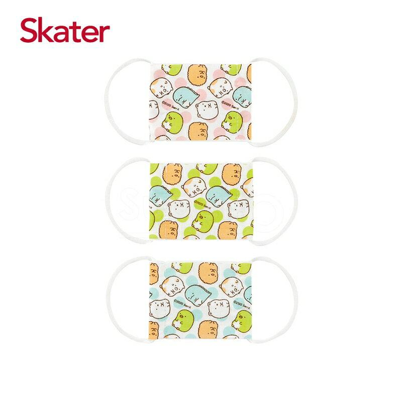 Skater 幼兒紗布口罩(3枚/包)-角落小生物(baby適用)★愛兒麗婦幼用品★