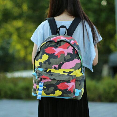 【包包阿者西】後背包 韓國LEFTFIELD彩色迷彩後背包 電腦包 書包 NO.702 칼라위장지 카키