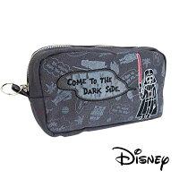 【日本進口】星際大戰 STAR WARS 黑武士 帆布 筆袋 鉛筆盒 收納包 迪士尼 Disney - 519104