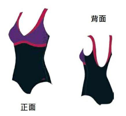 ^~陽光樂活^~SPEEDO 女人美型連身U背泳裝 Core Colourblock~SD