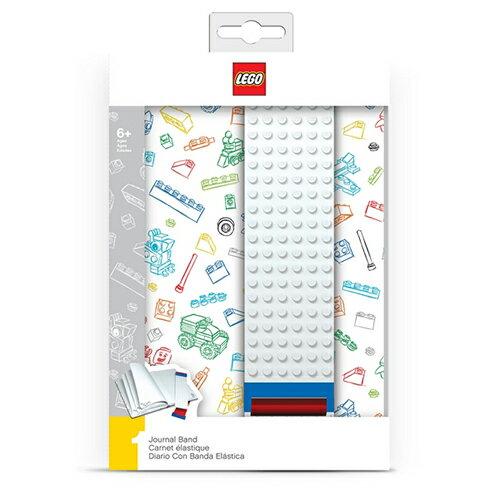 【 樂高積木 LEGO 】組合板筆記本 - 白色