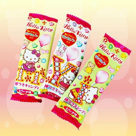 【敵富朗超巿】Hello Kitty 水蜜桃棒棒糖 6g 有效期限:2018.12.31