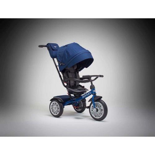 賓利 Bentley 原廠授權兒童三輪車/三輪嬰幼兒手推車-藍色★衛立兒生活館★