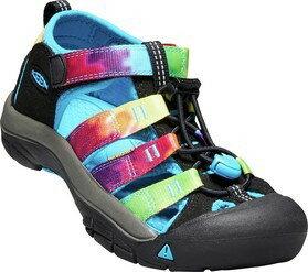 ├登山樂┤美國KEENNEWPORTH2童護趾涼鞋-黑彩色#1018441