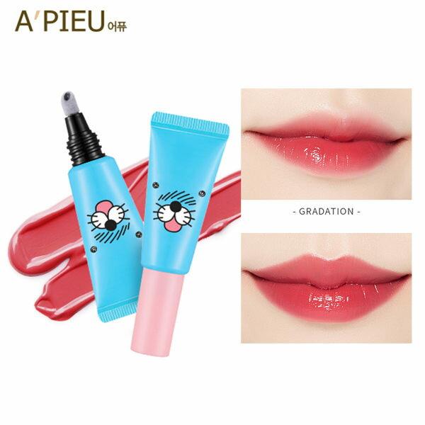 韓國APIEUXBONOBONO清涼海獅保濕氣墊唇蜜唇彩(7.3g)【庫奇小舖】