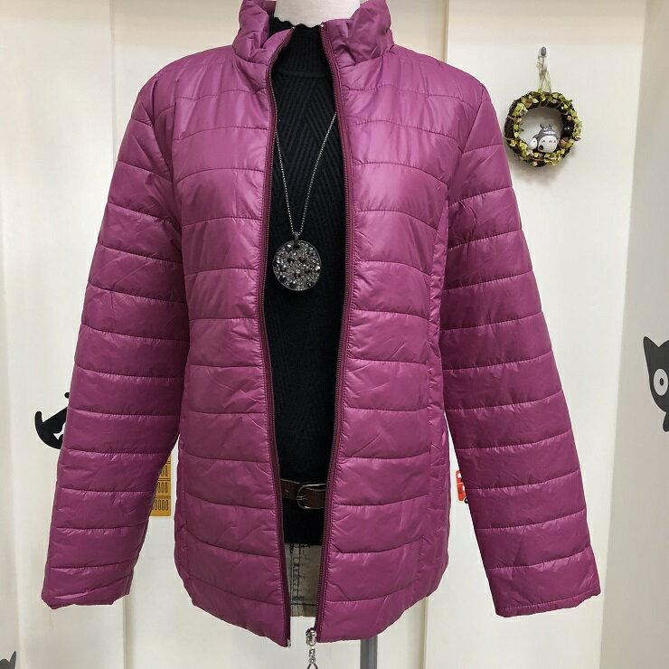 超取免運 紫紅 防潑水 防水 防風 鋪棉 連帽 刷毛 保暖 外套 夾克 大衣 女裝 女 女生