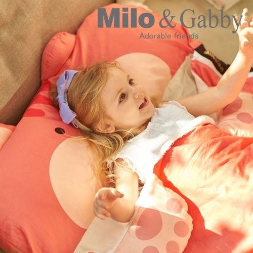 Milo & Gabby 動物好朋友-三合一超柔軟四季睡袋(LUCY松鼠)★衛立兒生活館★