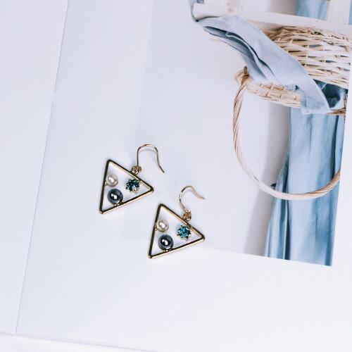 三角恆星‧水星藍  /   耳針 1