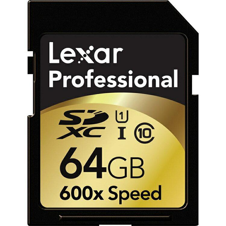 ::bonJOIE:: 美國進口 Lexar 64GB SDXC 600x UHS-I 90MB/s Class 10 高階專業記憶卡 (全新盒裝) 64G Memory Card Sandisk