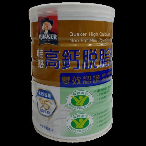 【憨吉小舖】【雙效認證】桂格高鈣脫脂奶粉 750g/1500g/罐