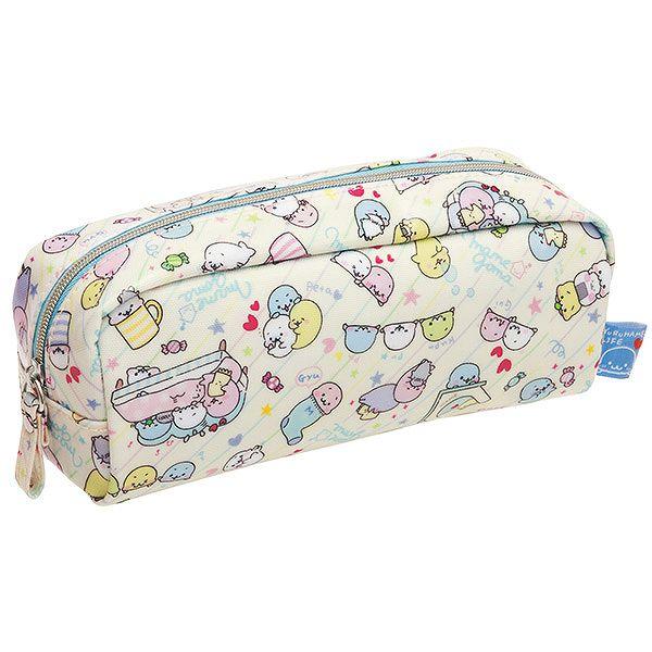 X射線【C688260】海豹Mamegoma 筆袋,便美妝小物包/筆袋/面紙包/化妝包/零錢包/收納包/皮夾/手機袋/鑰匙包