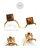 日本CREAM DOT  /  ピアス 金属アレルギー チタンポスト ヴィンテージ調 カボション ストーンモチーフ ドロップ 揺れる ダメージ加工 レトロ 上品 お呼ばれ アクセサリー デイリー カジュアル 大人 女性 プレゼント ギフト  /  qc0413  /  日本必買 日本樂天直送(1490) 7