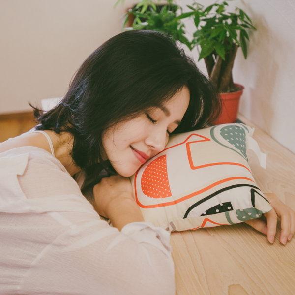 抱枕 [Q彈午安枕-三款隨機] 100%超細纖維 ; 內含南亞A級纖維棉枕芯 ; 翔仔居家台灣製