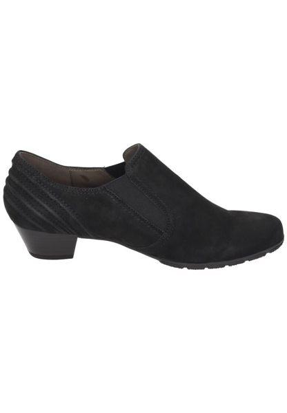 Gabor 歐美英倫時尚秋冬懷靴 黑  低粗跟│顯瘦│寬楦 2
