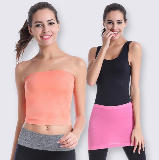 50%OFF SHOP~AD021911S~速乾多 防止尷尬瑜伽 裹胸 圍脖 包裙~單車跑