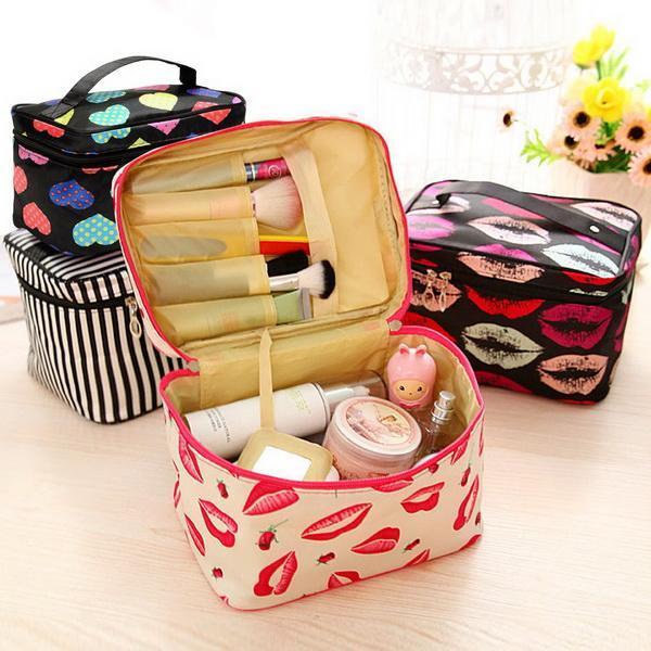 Cosmetic Bag makeup Organizer Holder Handbag 0