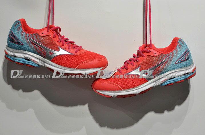 【登瑞體育】MIZUNO 女款慢跑鞋RIDER19 -J1GD160608