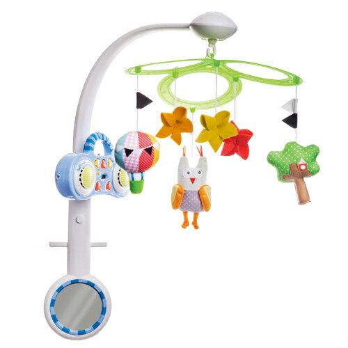 以色列【TAF Toys】床鈴系列-貓頭鷹MP3撥放組 1