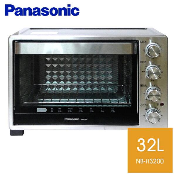 直接打93折★國際牌 32L雙溫控電烤箱【NB-H3200】