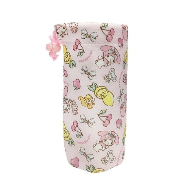 X射線【C573603】美樂蒂Melody保冷水壺提袋,杯套水壺套水壺配件水壺袋隨行杯提袋護套保溫袋