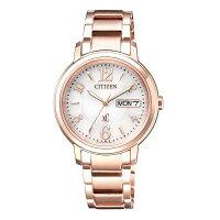 CITIZEN 星辰 EW2422-55A XC系列 亞洲限定 甜美知性光動能腕錶 玫瑰金 32.5mm-清水鐘錶-流行女裝