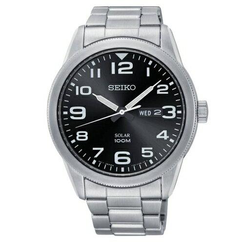 方采鐘錶:SEIKO精工潮男必備太陽能鍊帶腕錶V158-0BC0DSNE471P1