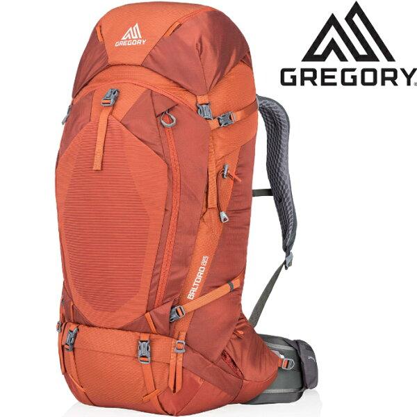 Gregory後背包登山背包背包客背包健行Baltoro65專業登山包916096397亞鐵橘