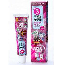 倍麗兒 波力 兒童牙膏 口香糖口味 6歲以上 女◆德瑞健康家◆