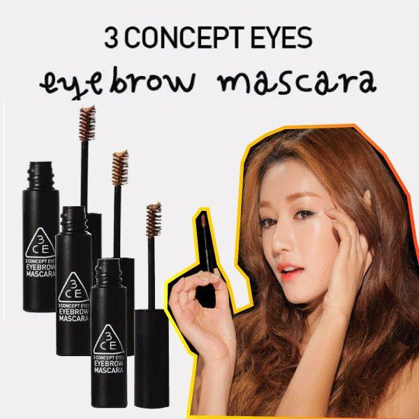 韓國3CE 自然顯色染眉膏 6g 3色供選【櫻桃飾品】【21808】