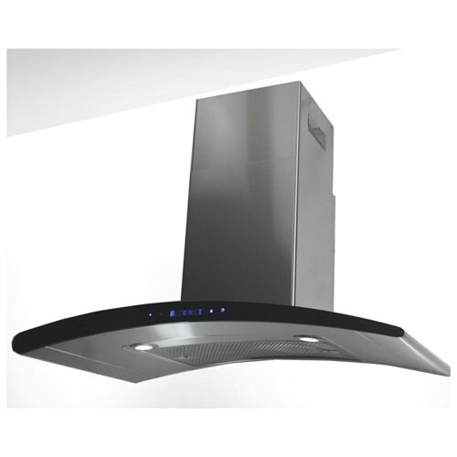 "AKDY New 30"" European Style Stainless Steel Wall Range Hood Vent Touch Control AK-198KN3 30"" 0"