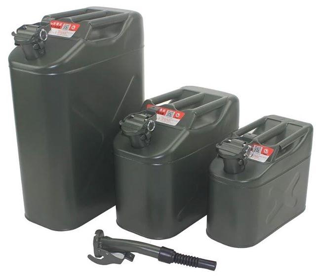 露營 美式軍風 汽油桶 煤油桶 空桶 汽化燈玩家必備 風格露營 5公升/10公升