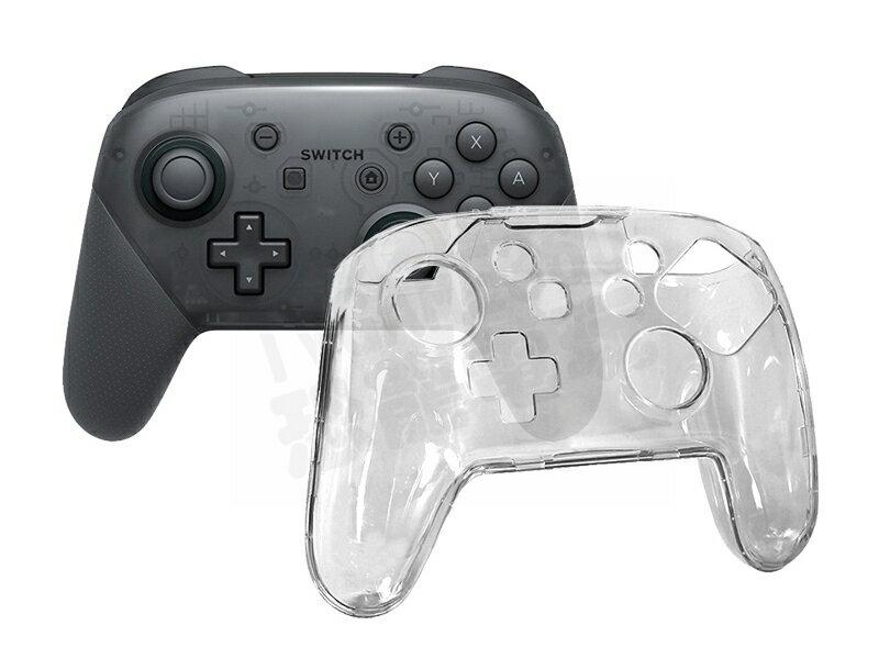 任天堂 Nintendo Switch NS PRO控制器 傳統無線控制器 水晶殼 PC硬殼 保護殼【台中恐龍電玩】