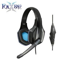 【FoxXRay 狐鐳】 極光響狐 FXR-BA-02 電競耳機麥克風【三井3C】